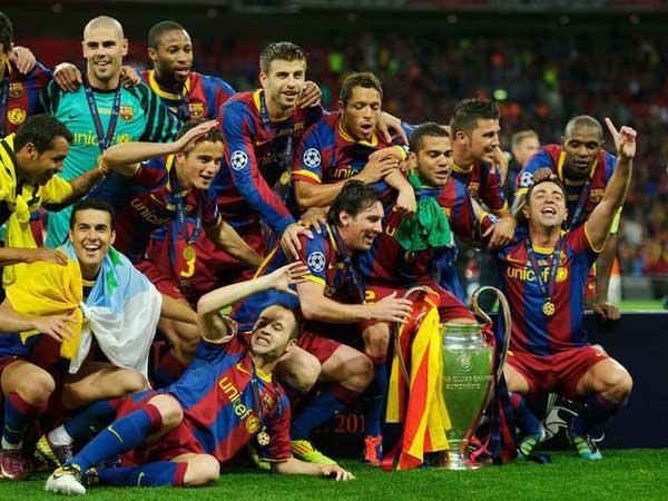 Barcelona là đội bóng chủ sân Cam Nou đã xuất sắc 5 lần vô địch cúp C1