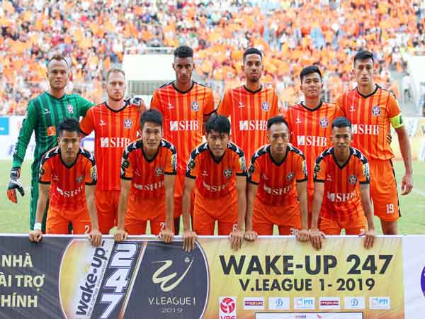 Đội hình hiện tại của SHB Đà Nẵng