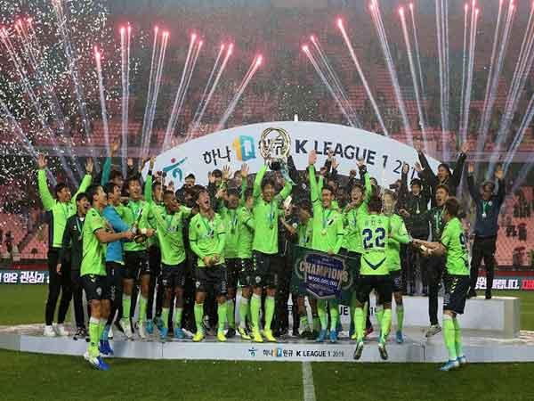 Giải vô địch quốc gia Hàn Quốc được ra đời vào năm 1983