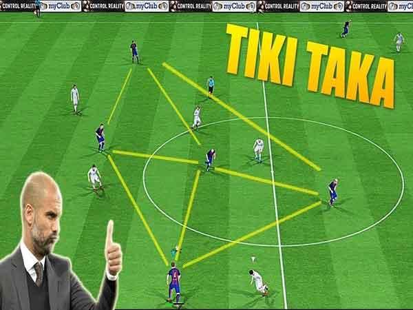 Chiến thuật Tiki-taka triển khai ra sao?